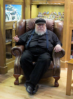 George R.R. Martin, Authors Road