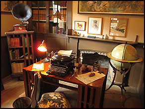 Charmian London's Office; Authors Road